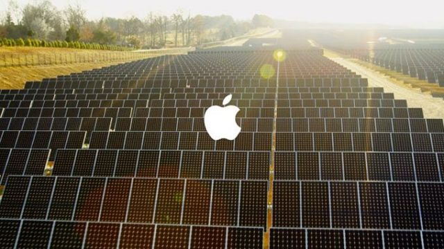 efecto invernadero, LEED, energía, apple, China, Jobs, renovable