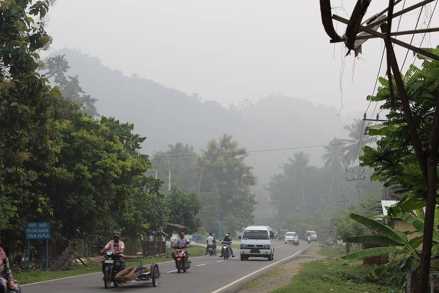 Contaminación en Indonesia
